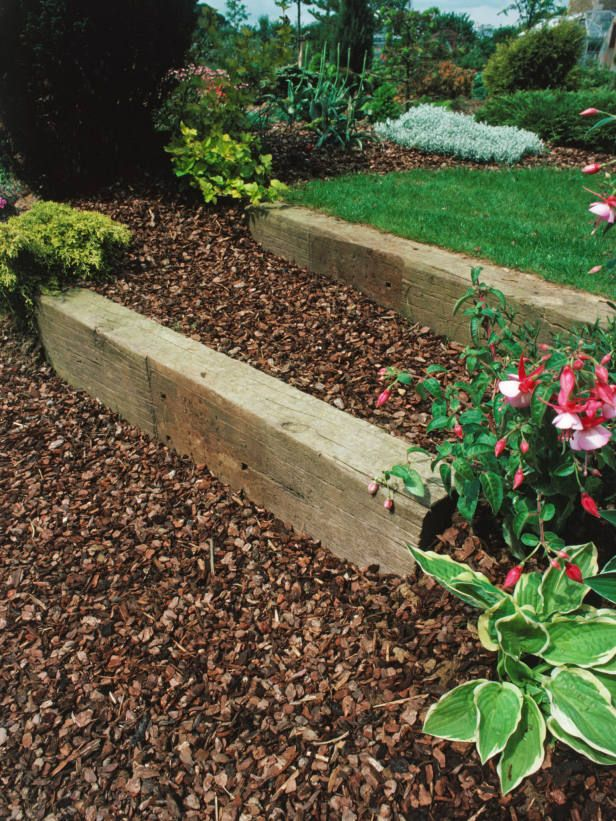 Railroad ties used in landscaping design for the garden railroad ties used in landscaping design workwithnaturefo