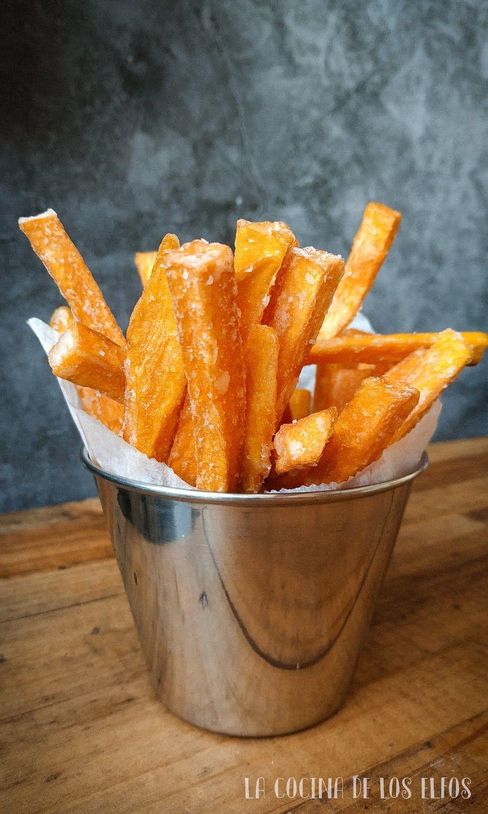 Patatas Fritas de Boniato (Sweet Potato Fries)