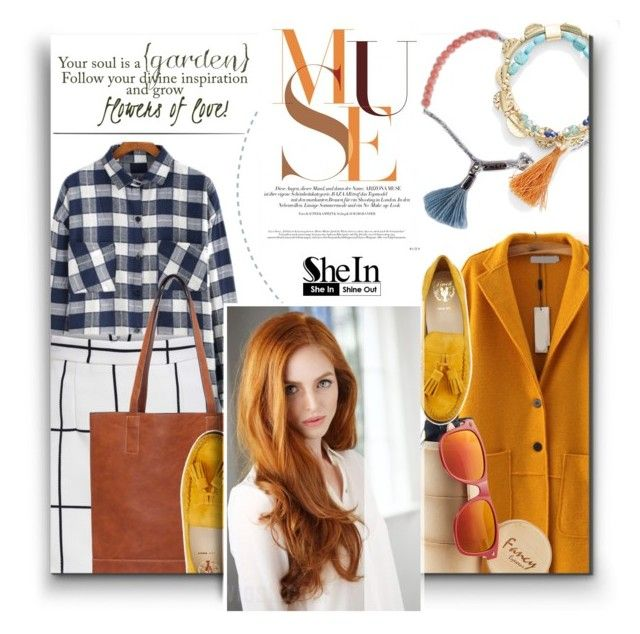 """""""Shein 5"""" by barbarela11 ❤ liked on Polyvore featuring Lennebelle, Lonna & Lilly and Cole Haan"""