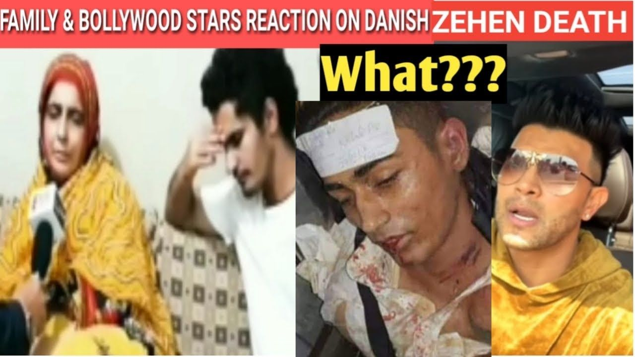 Danish Zehen Family React On His Death Bollywood Stars Reaction On