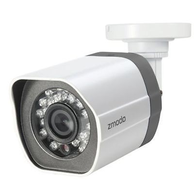 Details about Funlux Zmodo 720p sPoE 3rd Gen ZP-IBT15-S with Female