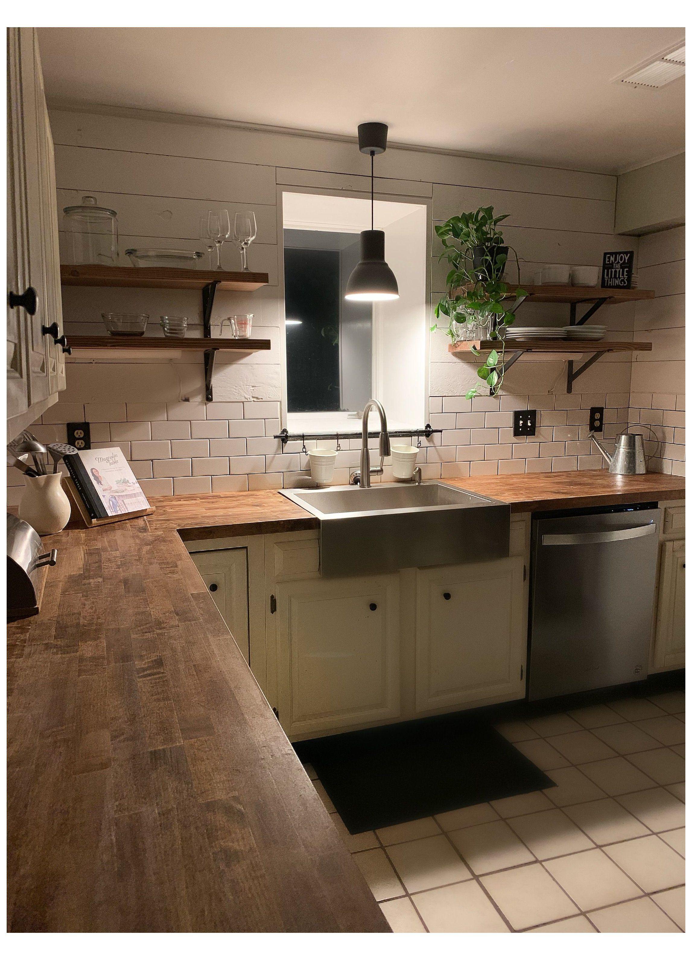 subway tile kitchen farmhouse
