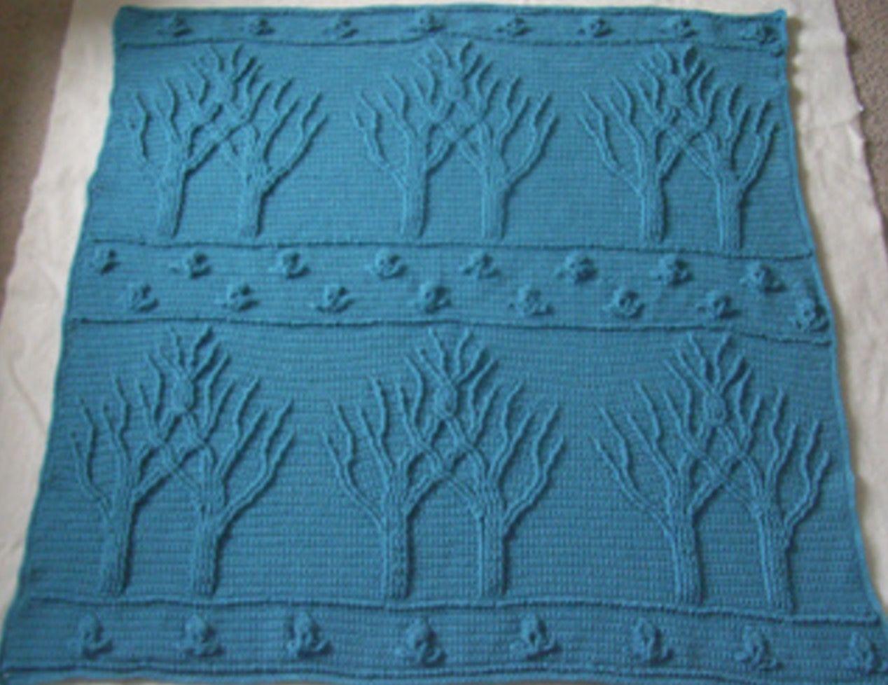 Tree Of Life Crochet Afghan Pattern Free | Tejido