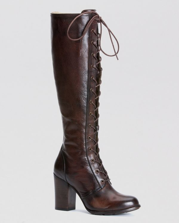 Frye Tall Lace Up Boots Parker | Bloomingdale's | Boots