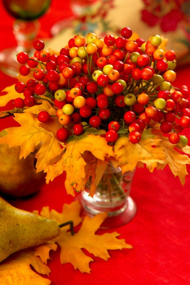 Leaves And Berries...life is bittersweet