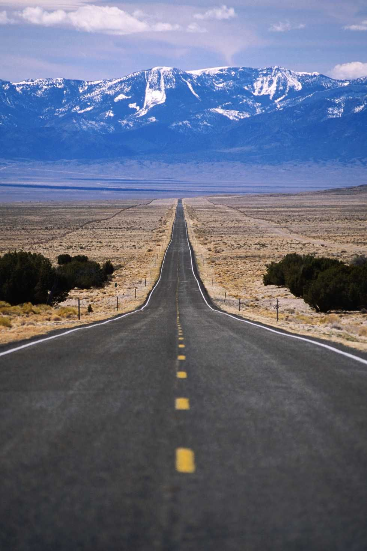 scenic road trip ideas - Highway 50