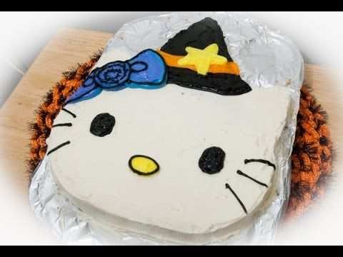 Halloween Hello Kitty Cookie Cake