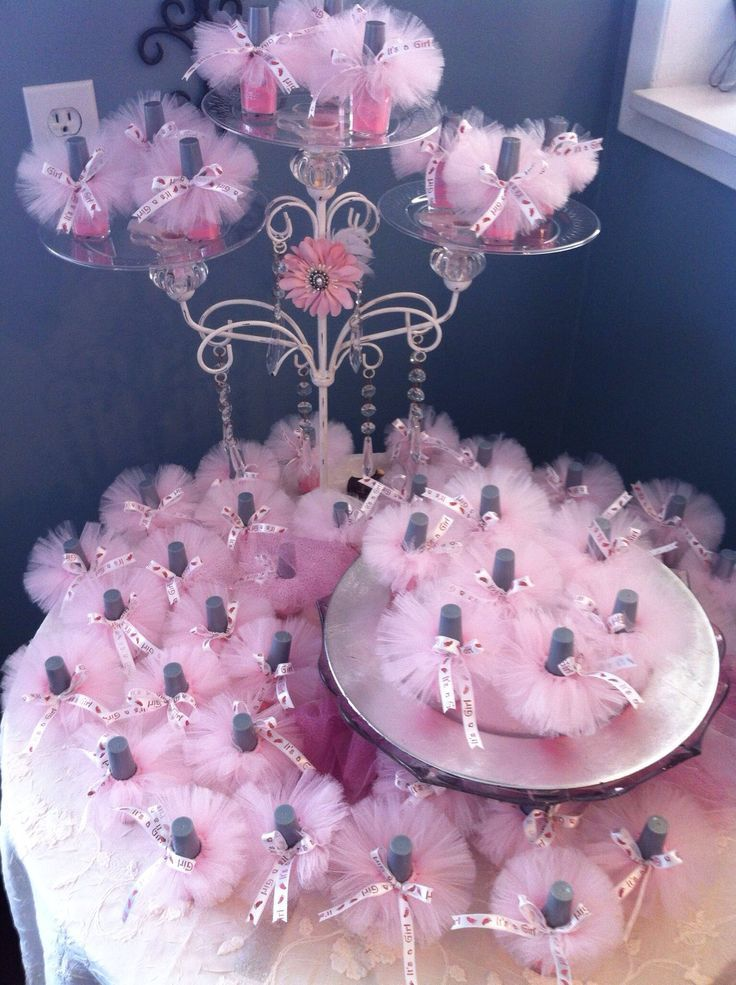 Baby Shower Idea For Girl Part - 25: DIY Baby Shower Ideas For Girls