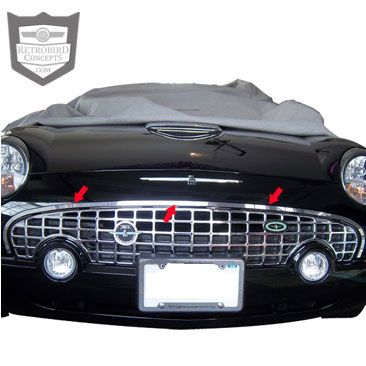Add A Customized Look To Your 2002 2005 Ford Thunderbird With This Stainless Steel Grille Surround Trim Made Fo Ford Thunderbird Thunderbird Truck Accessories