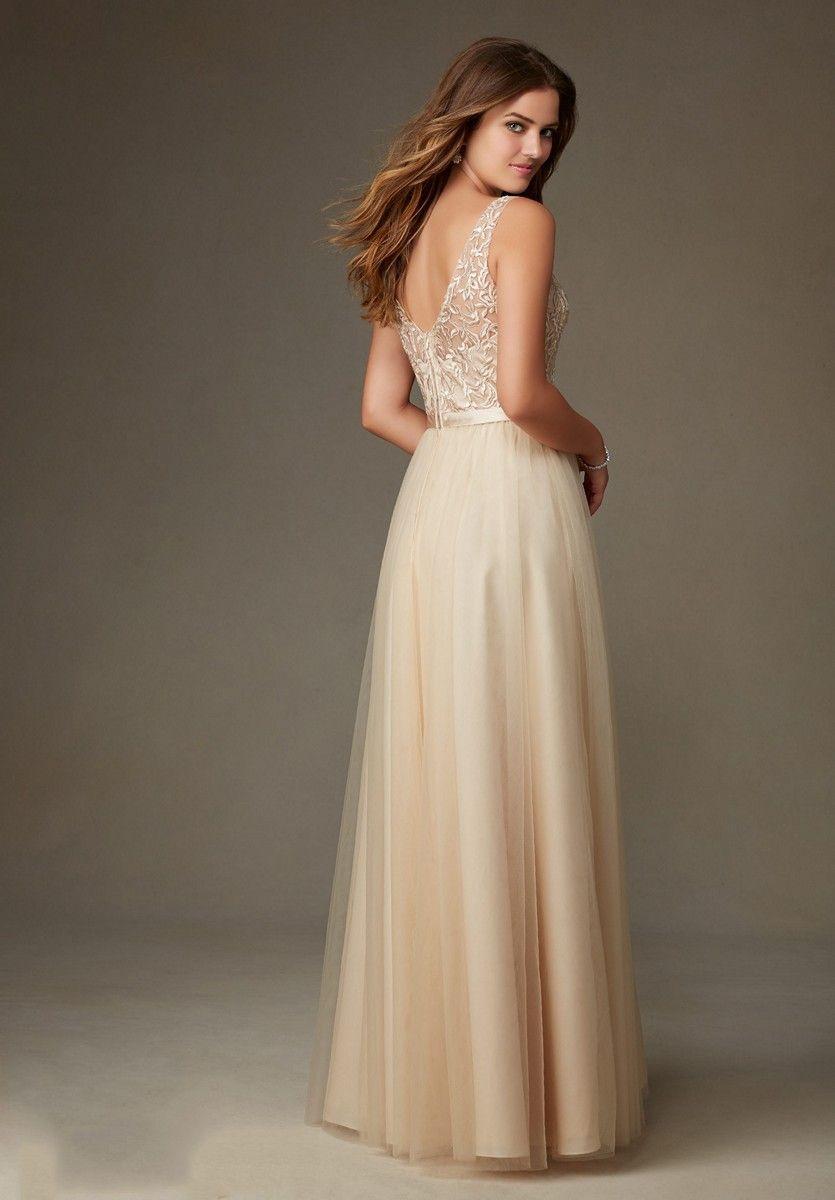 5a5459a1162 Back of Mori Lee 134 Bridesmaid Dress.  morilee  bridesmaid  bridesmaiddress