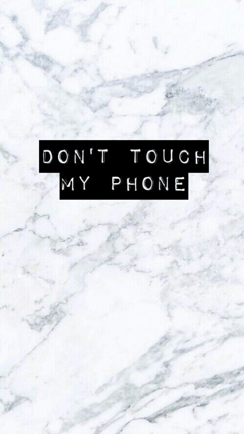 Background Wallpaper Iphone Cute Dont Touch My Phone