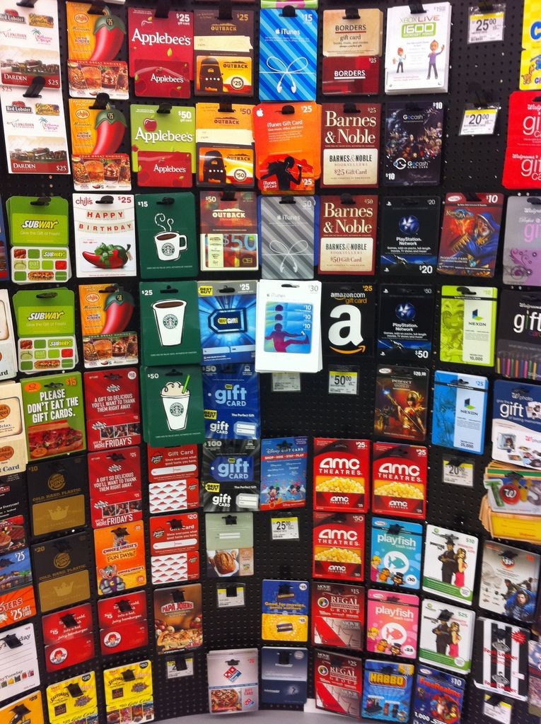 Any kind of restaurant gift card we love all food or