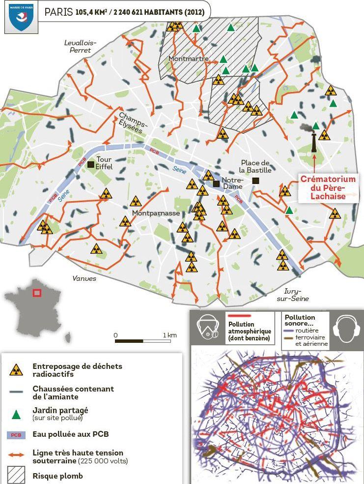 Cartes La France Toxique Marseille Ville La Plus Polluee