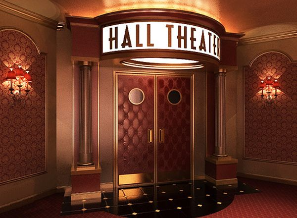 Entrance To In Home Movie Theater | Home Theater Décor : Entertainment  Technology