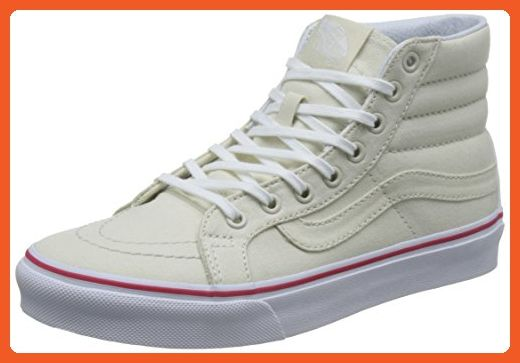 Vans Womens Bone True White SK8-Hi Slim Sneakers Women s US9.0  Men s US7.5  - Sneakers for women ( Amazon Partner-Link) c3e6dce68