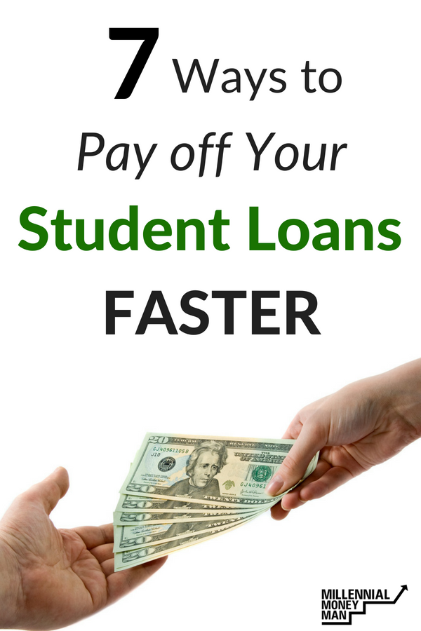 Learn how you can pay off your student loans faster and