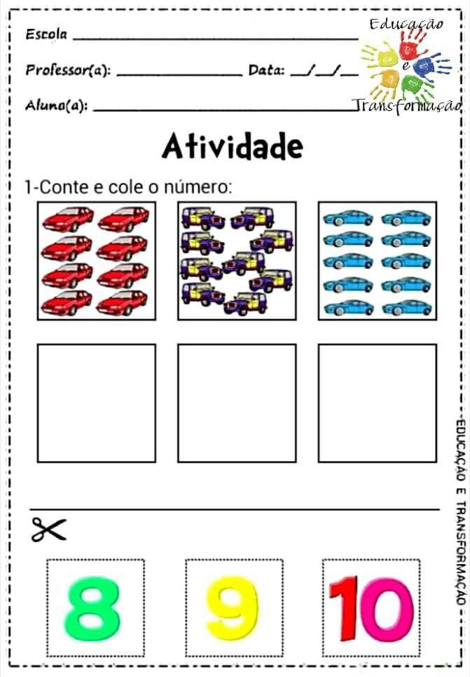 Pin de Jamile Meyre de Oliveira. en Numerais   Pinterest