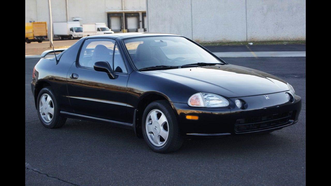 1994 Honda Civic Del Sol Targa Top 5 Speed Manual Black
