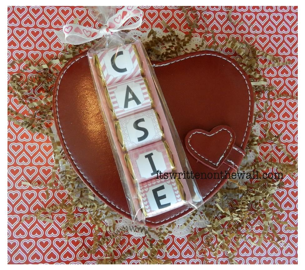 Valentine Hershey Nugget Wraps available now. Get Uppercase letters and lower case letters-Spell lots of things