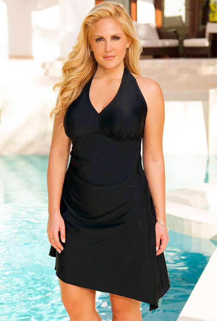 Swimdress plus size long dresses