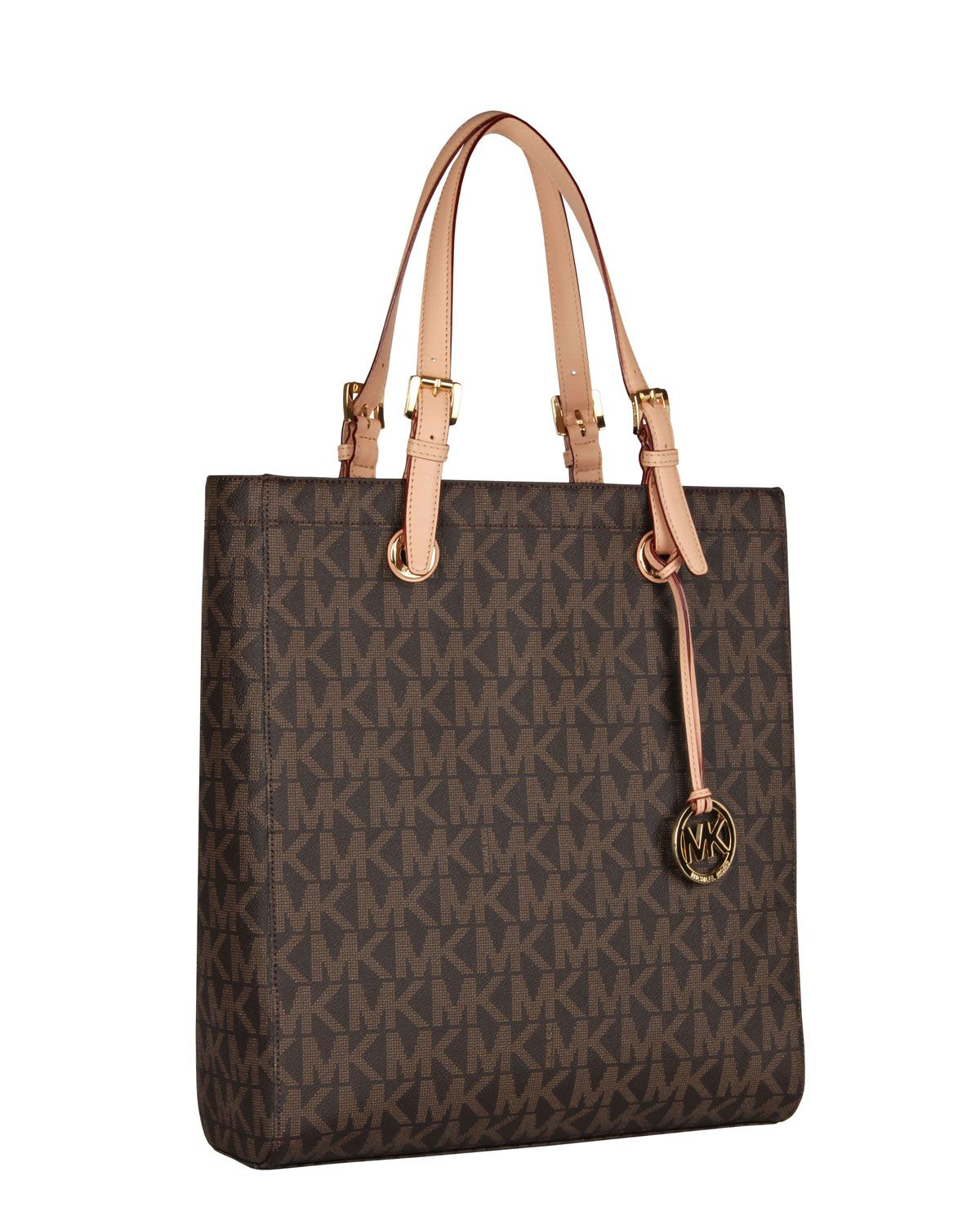 47268778ab7c Buy michael kors tote bag brown > OFF65% Discounted