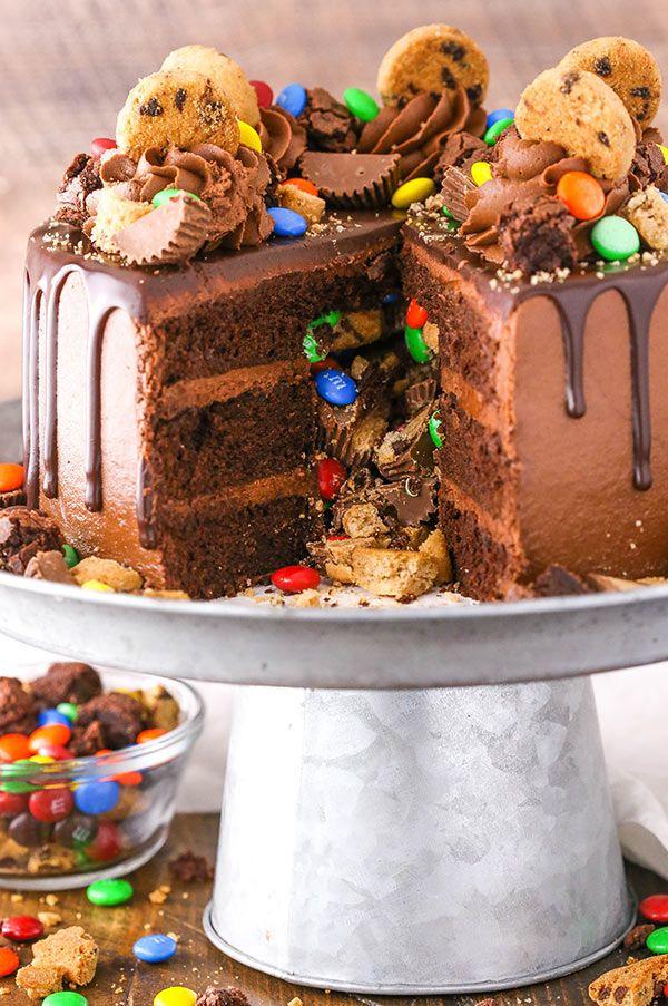 Photo of Chocolate Piñata Cake | Moist Chocolate Cake Stuffed with Candy!