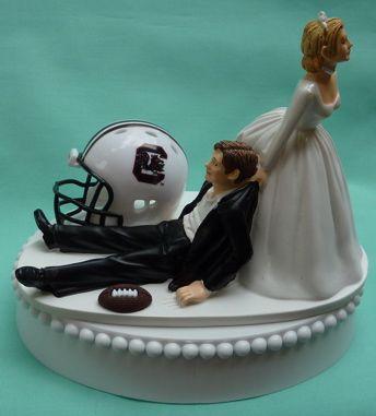 Wedding Cake Topper University Of South Carolina