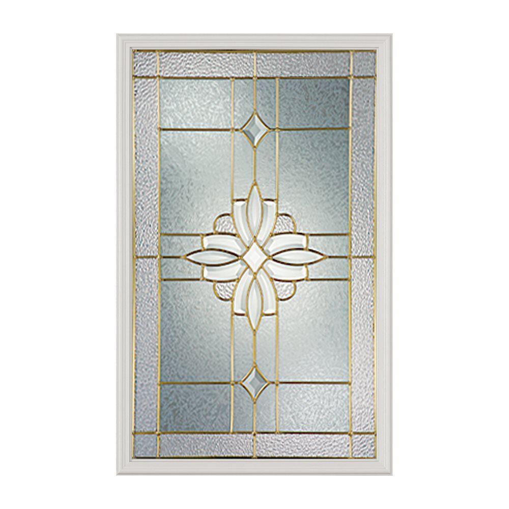 Shop Odl Canada 51000 Laurel Decorative Door Glass Insert At Lowes