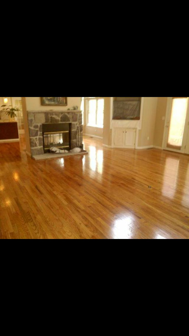 Red Oak Select I Stained Puritan Pine With 2 Coats Of Semi Gloss By Fabulon Types Of Wood Flooring Flooring Floor Restoration