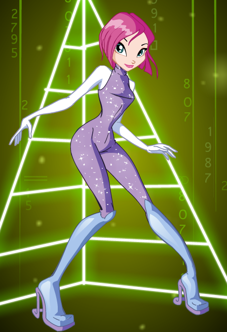 Tecna From Winx Club In Sparkling Full Bodysuit Commissioned