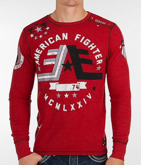 f3da93b7c828e American Fighter Warner Thermal Shirt - Men's Shirts/Tops | Buckle ...