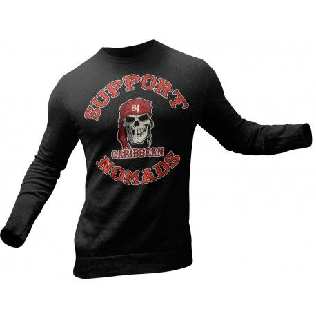 Hells Angels Nomads Caribbean Support81 Sweater model 1