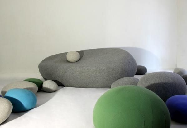 Marvelous Creative Kids Furniture, Large Floor Pillows And Soft Ottomans Are Great  Decorating Ideas For Kids