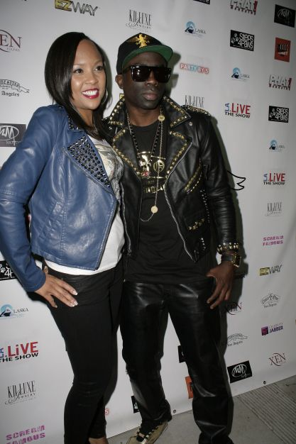 Shalena Smith From Gaga Designs And Sam Sarpong Red Carpet At Xen Lounge In Studio City Wearing Future Stars Clothing Star Clothing Supermodels Hollywood