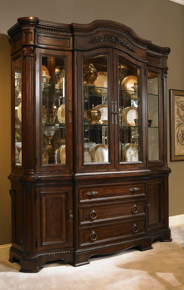 41+ Amazing China Cabinet Makeover Ideas | Muebles finos ...