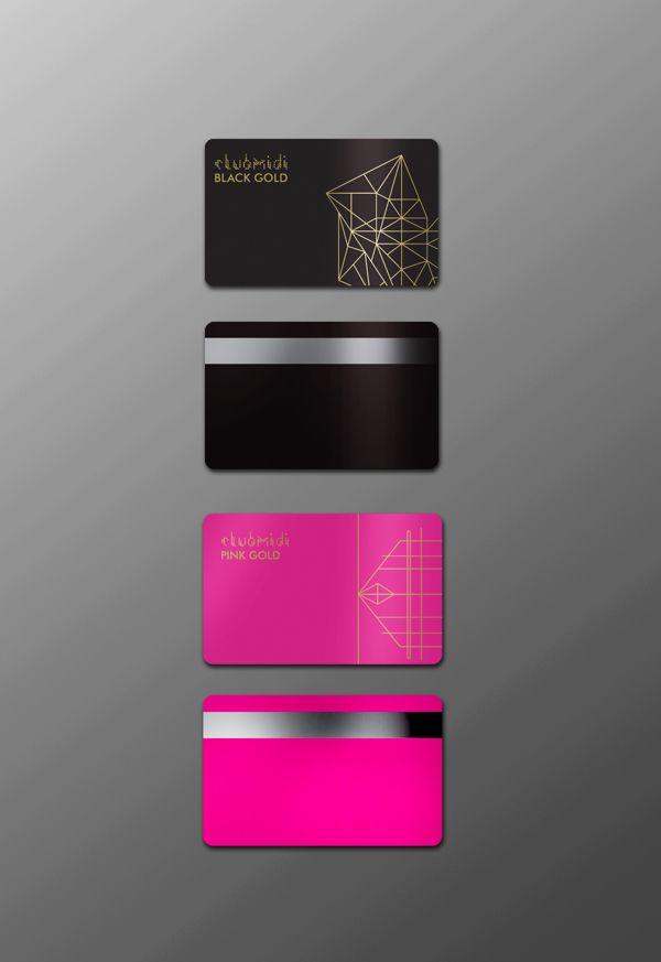 Cute  Classy  Fancy  Salon  Membership Cards  Direct  Auto