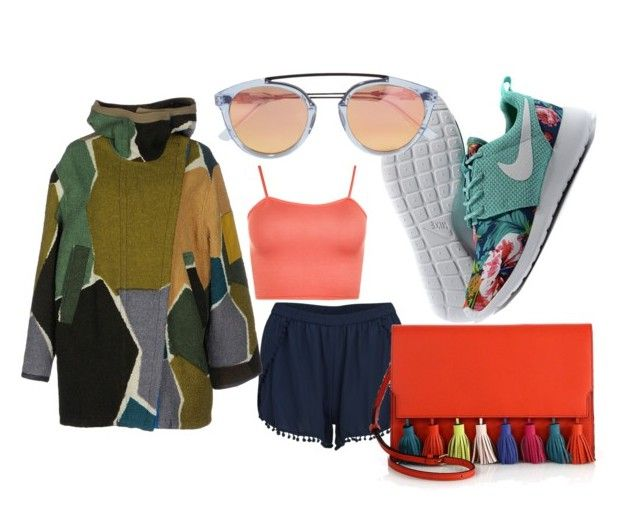 """Color"" by p0llyinurpocket ❤ liked on Polyvore featuring VILA, WearAll, Missoni, Westward Leaning and Rebecca Minkoff"