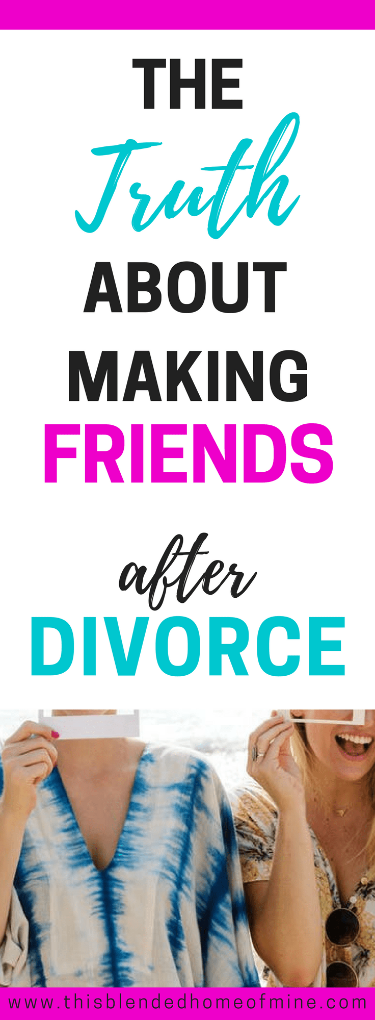 How to make new friends after divorce
