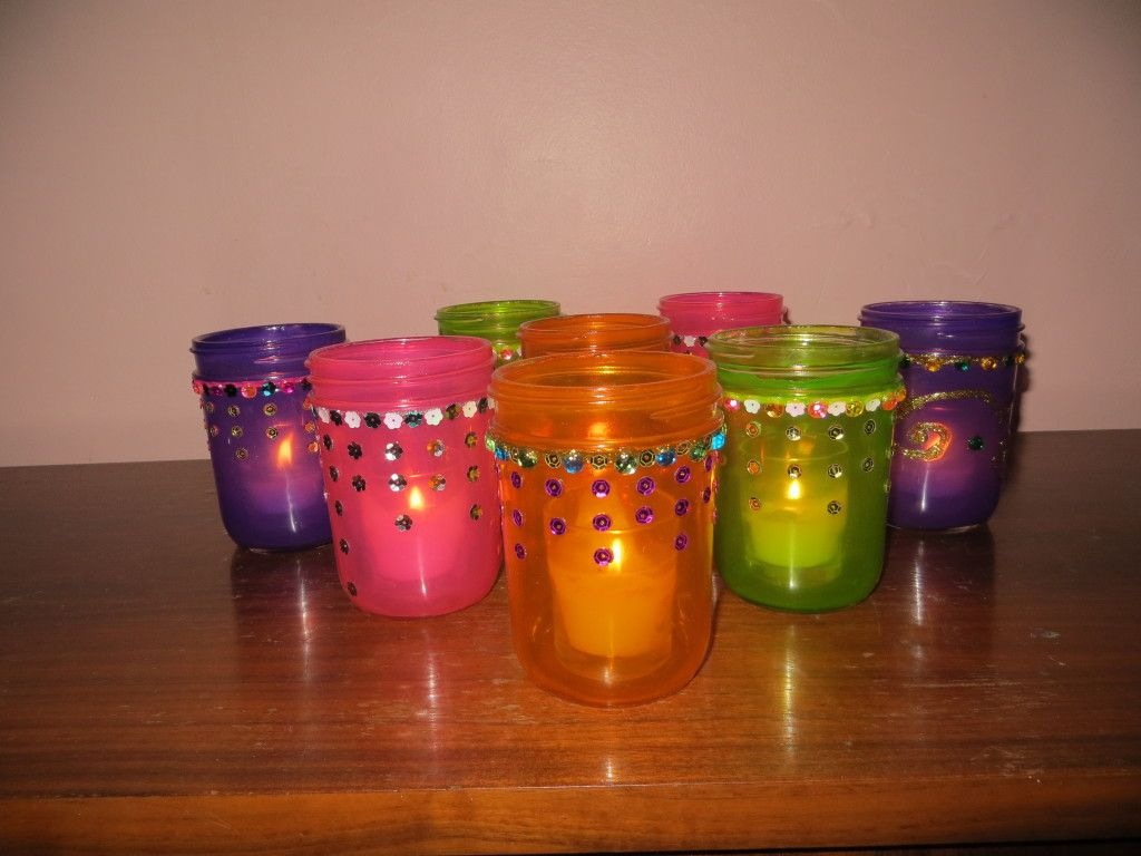 mason jar crafts | diy colored mason jars… | mason jars