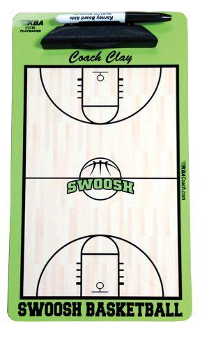 38db00ce58e Custom Basketball Dry Erase Clipboard - customize for any team. #basketball  #custom #monogram #clipboard