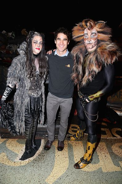 Mamie Parris As Grizabella Darren Criss And Tyler Hanes As Rum
