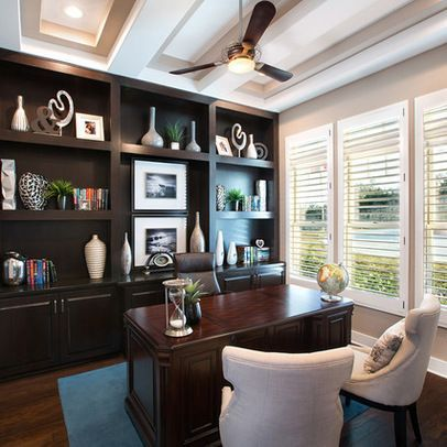 Home Office Design Ideas, Pictures, Remodel, And Decor   Page 3 | Interior  Design For A Home Office | Pinterest | Office Designs, Transitional Decor  And ...