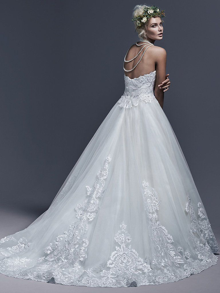 Dawnelle Wedding Dress by Maggie Sottero | back | Sottero and ...