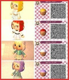 Animal Crossing New Leaf Hairstyles 144259 Animal Crossing New Leaf Hair Qr Codes Google Sear Animal Crossing 3ds Animal Crossing Qr Animal Crossing Hair