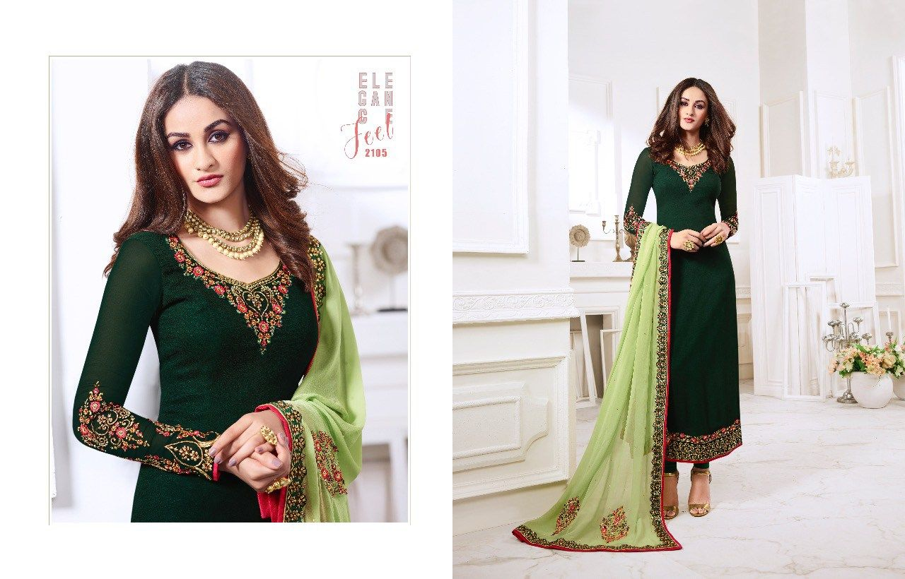 2f562834d9 NYSA VOL 12 GEORGETTE PARTY WEAR SALWAR SUIT CATALOG MANUFACTURER  WHOLESALER AND EXPORTER OF INDIAN ETHNIC WEAR IN INDIA   Sagar Impex
