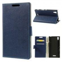 Funda Book Sony Xperia T3 Simple Magnetica Azul S/. 40.00