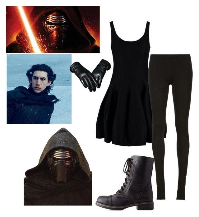 """""""Kylo Ren Cosplay Idea Thing......yeah"""" by ninja-potter-bright ❤ liked on Polyvore featuring art"""