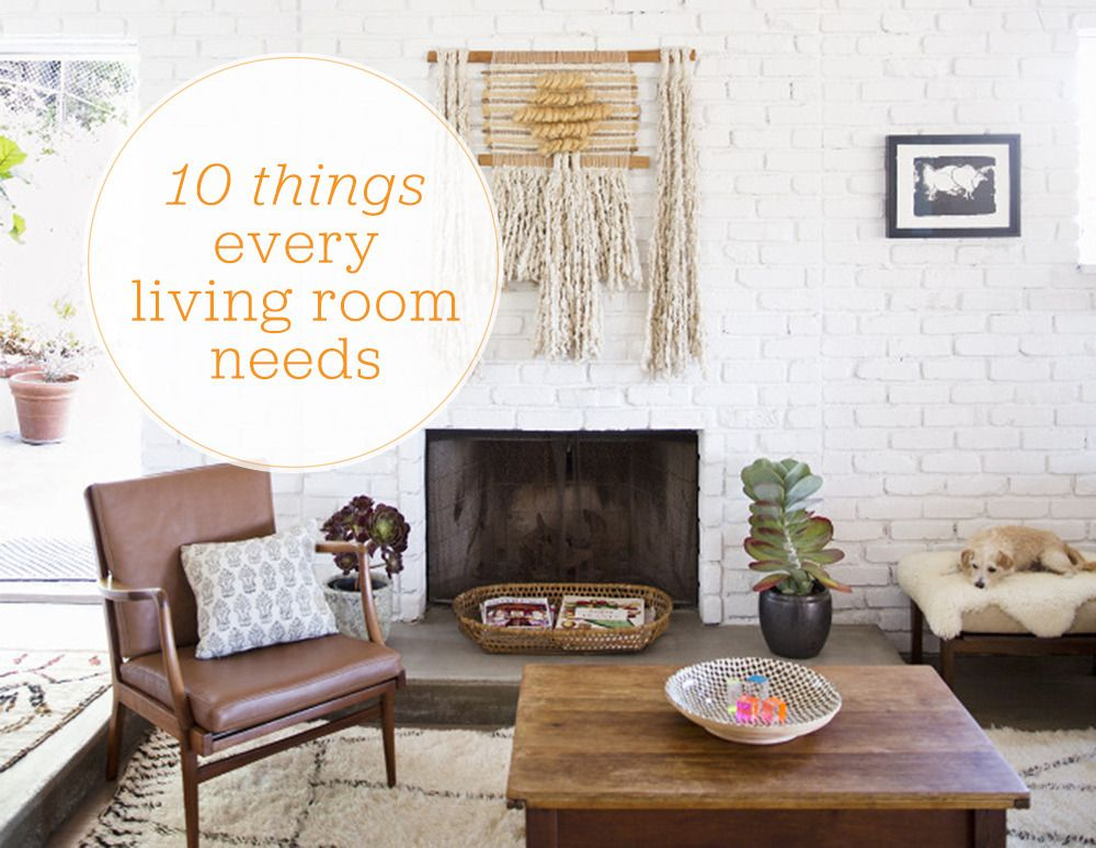 See More Images From 10 Things Every Living Room Needs On Domino Com Living Room Decor Home Decor Room Decor