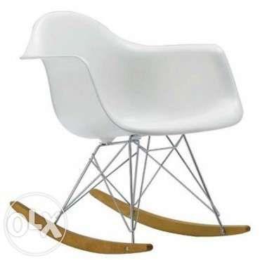 Nowoczesne Krzeslo Bujane Rar Eames Rocking Chair Eames Rocker Eames