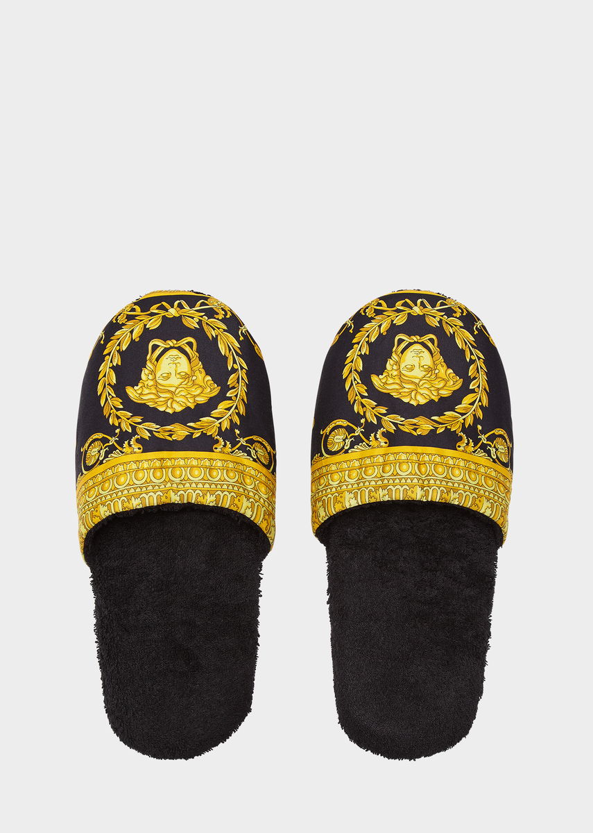 44597fb1dd I ♡ Baroque Bath Slippers - Home Collection | US Online Store in ...